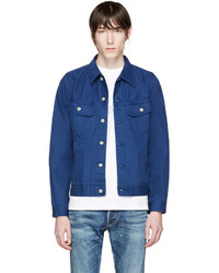 Navy denim jacket medium 596365
