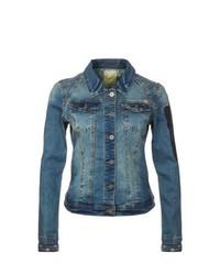 Nümph Wing Denim Jacket Blue