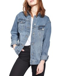 Oversize denim jacket medium 5388342