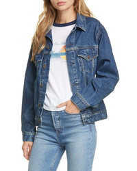 RE/DONE Oversize Denim Trucker Jacket