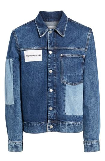 Calvin Klein Jeans Patch One Pocket Denim Jacket