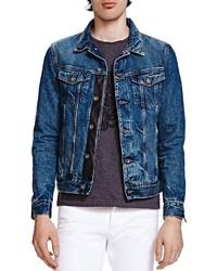 The Kooples Selvedge Denim Jacket