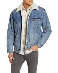 Levi's Vintage Fit Faux Denim Trucker Jacket
