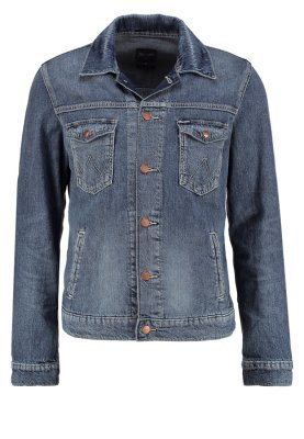 ... Wrangler ATTACK REGULAR FIT - Giacca di jeans - blue denim 1925df35151
