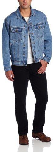 ... Wrangler Rugged Wear Unlined Denim Jacket