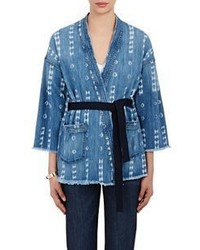 Denim kimono jacket blue medium 535555
