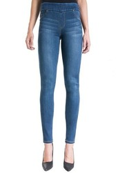Sienna mid rise soft stretch denim leggings medium 1310157