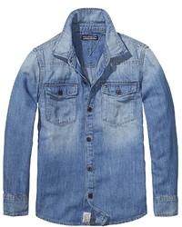 Tommy Hilfiger Final Sale Th Kids Denim Shirt