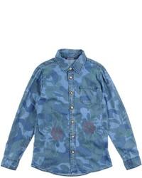 Heach Junior By Silvian Heach Denim Shirts