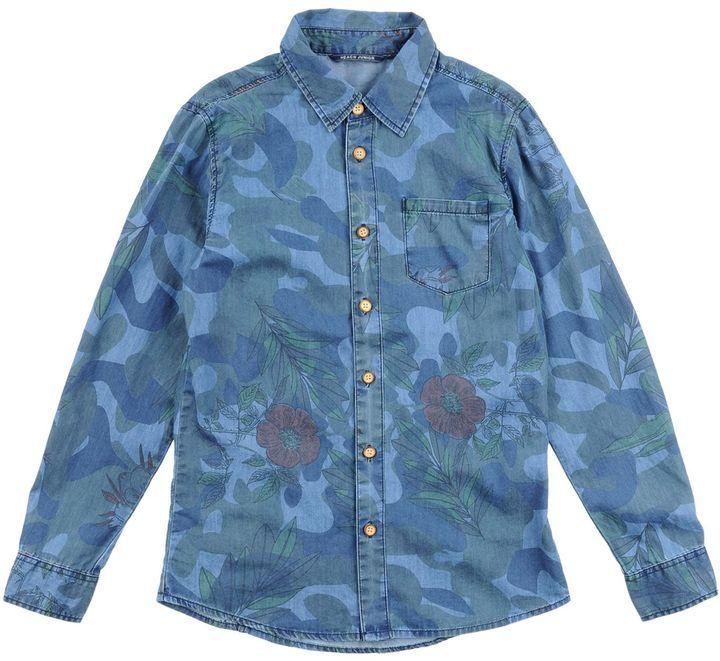 promo code 10889 0b171 Heach Junior By Silvian Heach Denim Shirts