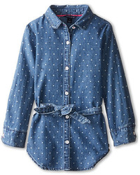 Tommy Hilfiger Kids Printed Denim Tunic