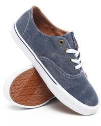 Supra Wrap Denim Treated Canvas Sneakers