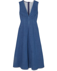 Stella McCartney Denim Midi Dress