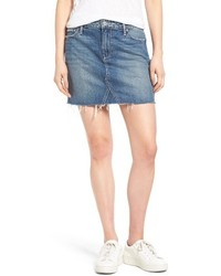 Alethea cutoff denim miniskirt medium 4014870