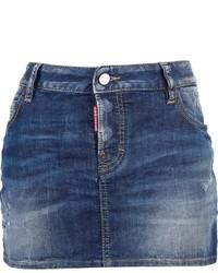 DSquared 2 Denim Mini Skirt