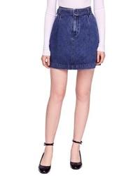 Free People Jade Denim Miniskirt