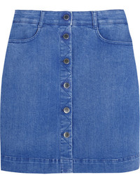 Stella McCartney Stretch Denim Mini Skirt