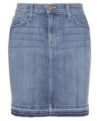 Current/Elliott The Skinny Mini Denim Skirt
