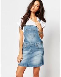 Lee Bib Mini Overall Dress