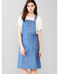 Gap 1969 Denim Overall Dress