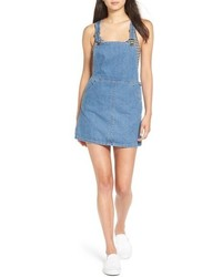 Billabong Saturdaze Denim Pinafore Dress
