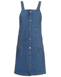 Vanessa Bruno Ath Elvire Denim Pinafore Dress