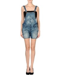 Tommy Hilfiger Denim Short Overalls