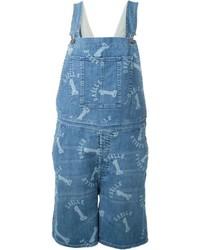 Glle Bonheur Salopette Overall Denim Shorts