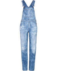 Citizens of Humanity Acid Washed Denim Overalls
