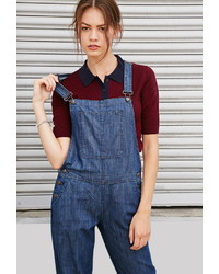 Forever 21 Chambray Overalls
