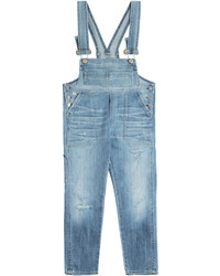 Citizens of Humanity Cropped Denim Audrey Overalls