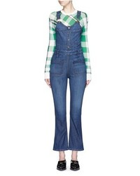 Frame Denim Le High Denim Overalls