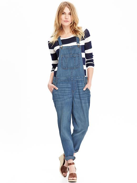 e133dafb4e9 Old Navy Denim Overalls, $44 | Old Navy | Lookastic.com