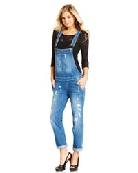 Guess Distressed Overalls