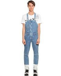 House of Holland Howdah Cotton Denim Overalls