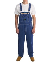 John Deere Workwear Denim Bib Overalls