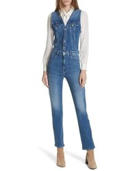 Frame Le Slender Denim Overalls The Vest Like Bodice On These Stretch Woven Overalls Offers An The Vest Like Bodice On These Stretch Woven Overalls Offers An The Vest Like Bodice On These Stretch Woven Overalls Offers An The Vest Like Bodice On These Stretch W
