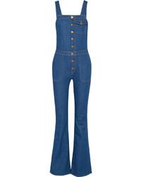 MiH Jeans Mih Jeans Dix Stretch Denim Overalls Mid Denim
