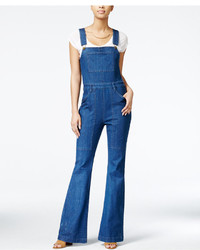 Rachel Rachel Roy Bell Bottom Denim Overalls