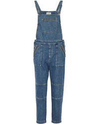 Sea Sold Out Washed Denim Overalls