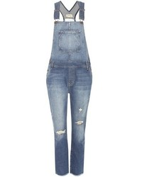 Current/Elliott The Charley Overall Denim