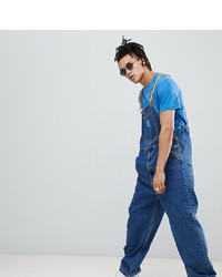 ASOS DESIGN The Simpsons X Denim Dungarees With Taping