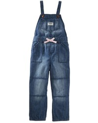 Osh Kosh Toddler Girl Oshkosh Bgosh Classic Denim Jogger Overalls