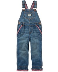 Osh Kosh Toddler Girl Oshkosh Bgosh Cuffed Denim Overalls