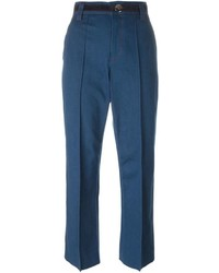Marc Jacobs Bowie Cropped Denim Trousers