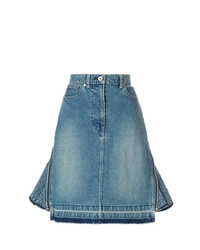 Sacai Peplum Denim Skirt