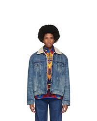 Polo Ralph Lauren Blue Denim Sportsman Trucker Jacket