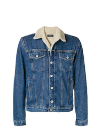 Diesel D Gioc Fur Denim Jacket