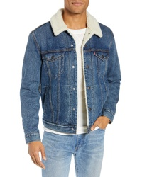 Levi's Faux Denim Trucker Jacket