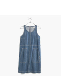 Madewell Denim Utility Shift Dress